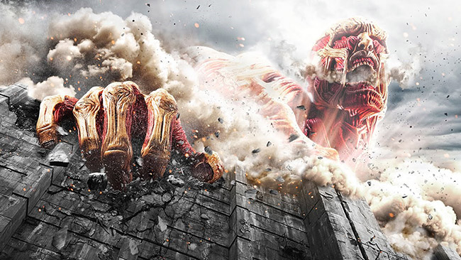 AoT: End of the World - 2015 Movie Poster TOHO