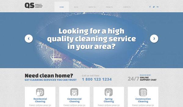 Cleaning-Responsive-WordPress-Theme