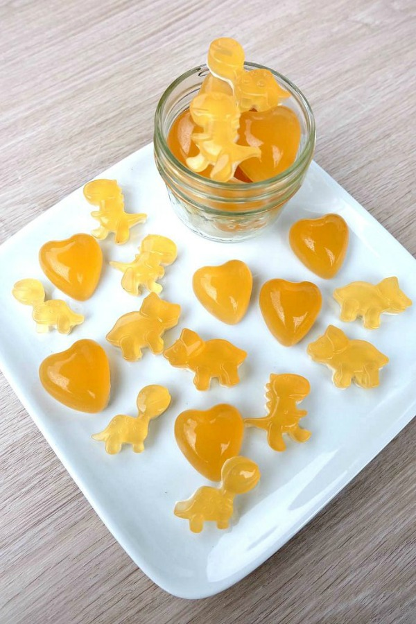 Homemade Sort Throat Gummies from Hello Creative Family