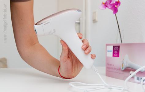 Review: Philips Lumea Essential Plus Enthaarungstool