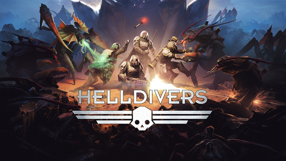Helldivers PC Game Free Download Poster