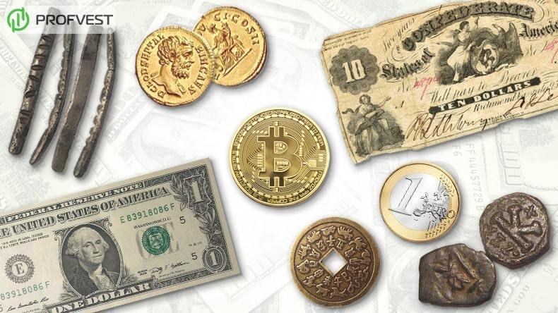 История денег появление первых денег