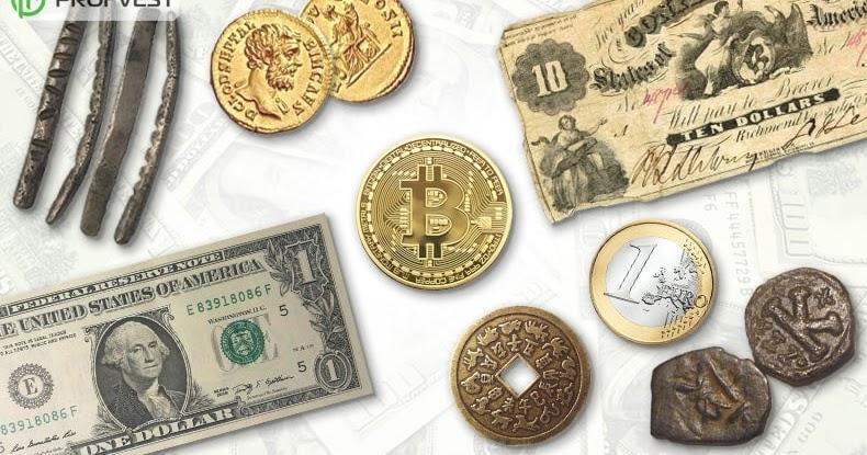 История денег, возникновение и развитие денег, история денег России