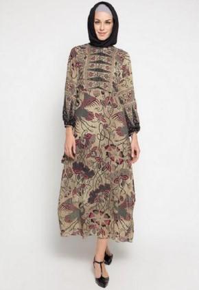 15 Koleksi Batik Casual Hijab Untuk Remaja Wanita Muda