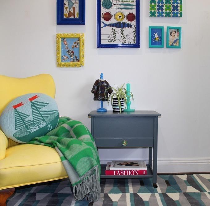 lazy daisy jones sewing room