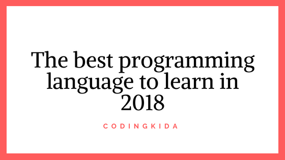 Top 10 best programming language to learn in 2018