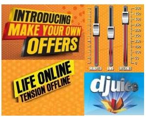 Djuice Introduced Make Your own Bundle Portal