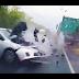 Ένας άτυχος φορτηγατζής, ένας βλάκας και ένας προσεκτικός οδηγός! [βίντεο]