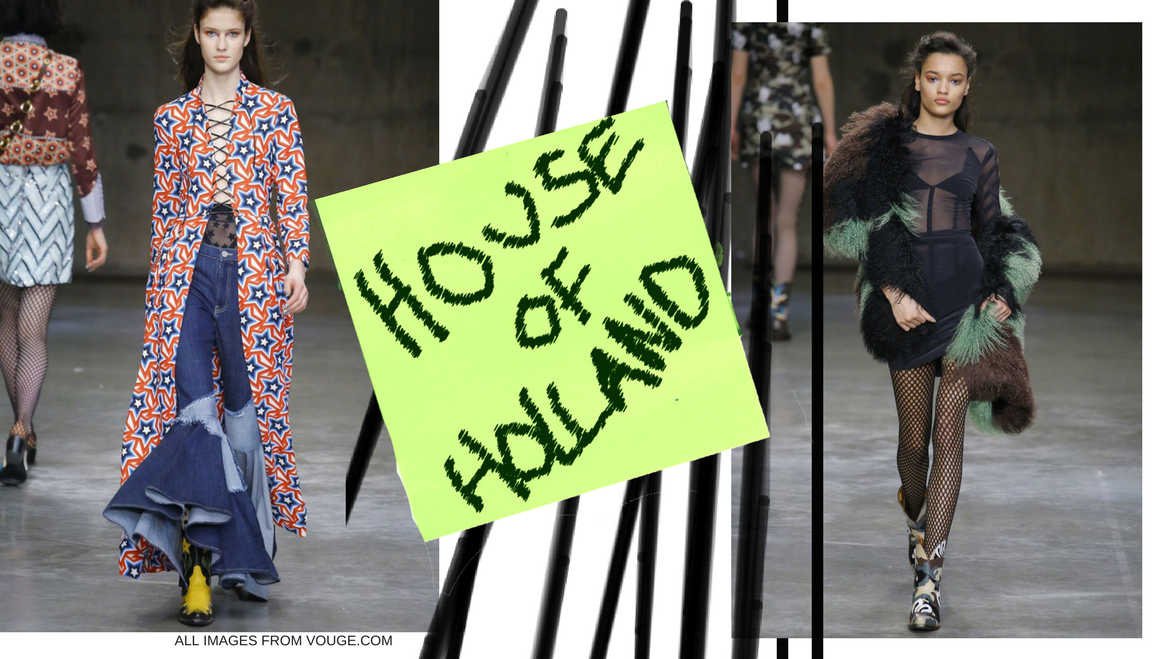 House of Holland AW17