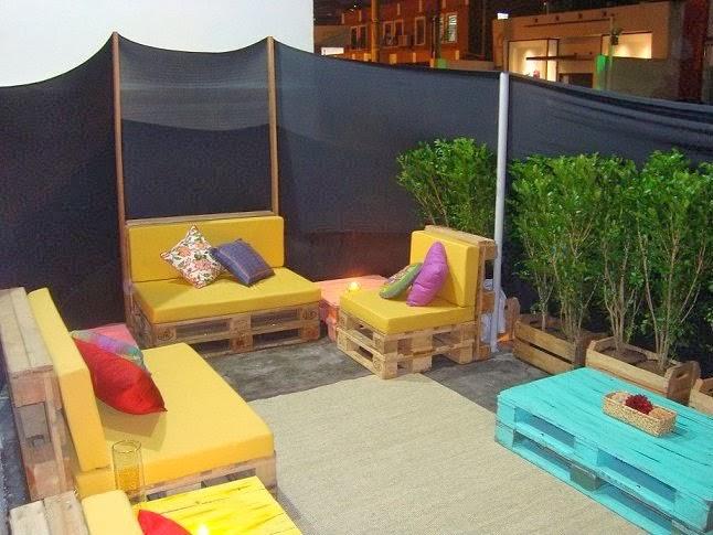 Sofa Usados Baratos Seat Covers India Sofás De Paletes: Ideias Para Decoração Com Paletes ...