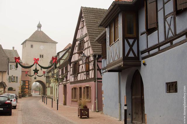 Turckheim pueblos Alsacia viaje