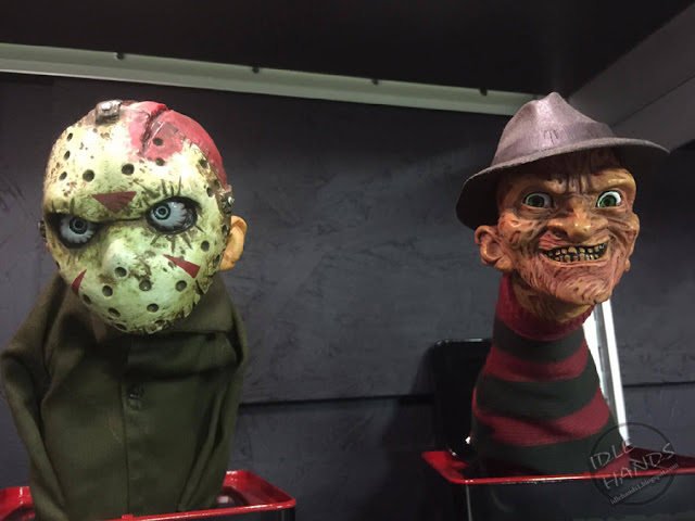 Toy Fair 2017: Mezco's Horror Toys Burst A Boxes Friday the 13th Jason Voorhees and Nightmare on Elm Street Freddy Kruger