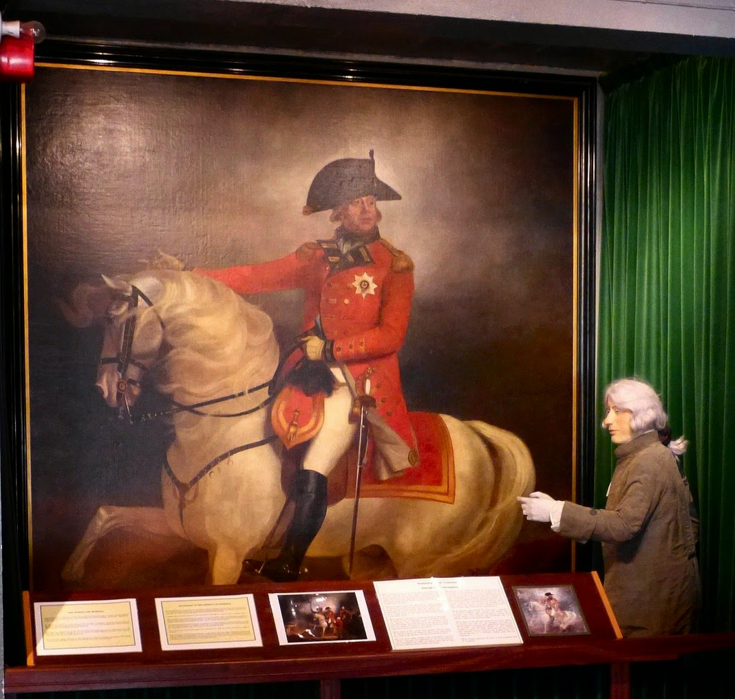 George III on horseback - on display in Weymouth Museum