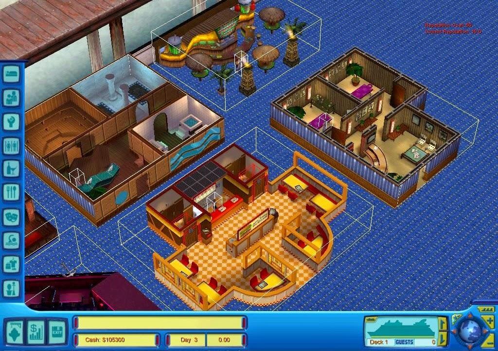 Cruise Ship Tycoon Game
