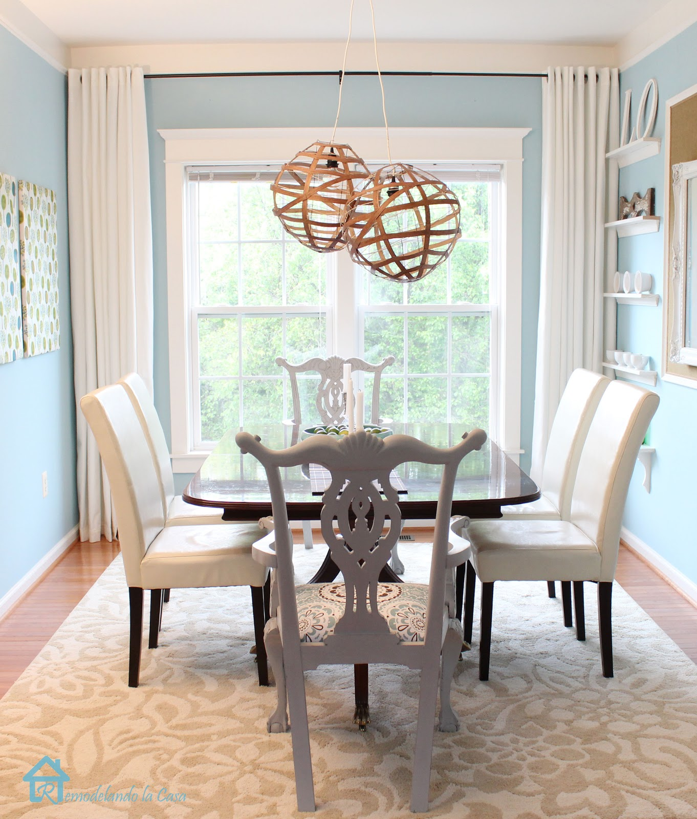 Dining Room Window: How To Install Trim On A Double Window