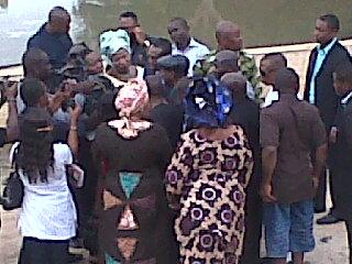Happening Now Senator Andy Uba Visits