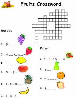Soal bahasa inggris kelas 3 sd tentang fruits dan vegetables