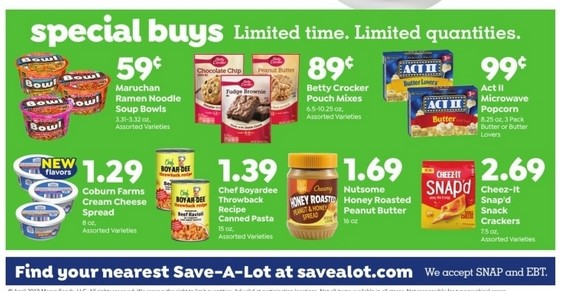 Save A Lot Weekly Ad April 24 - 30, 2019 - Coupons and Deals