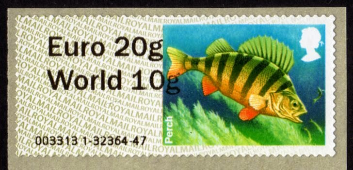 Freshwater Lakes Faststamp Euro20/World10 from Wincor machine.