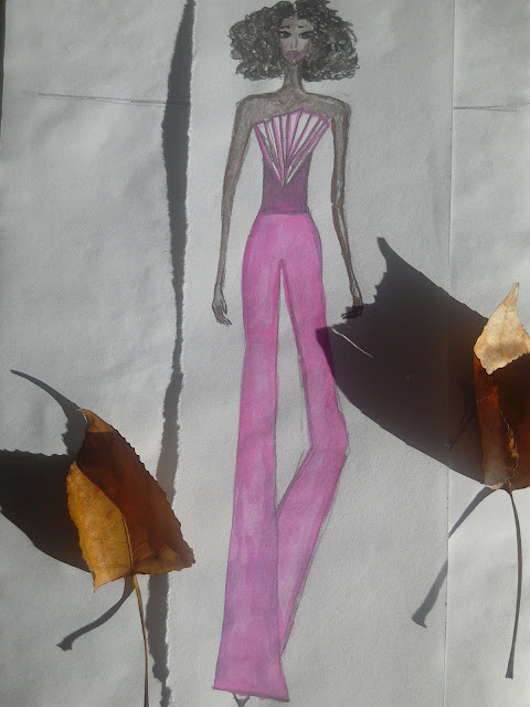 #originalfashionillustration #painting #watercolour #fashionillustration #modaodaradosti