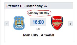 Match date