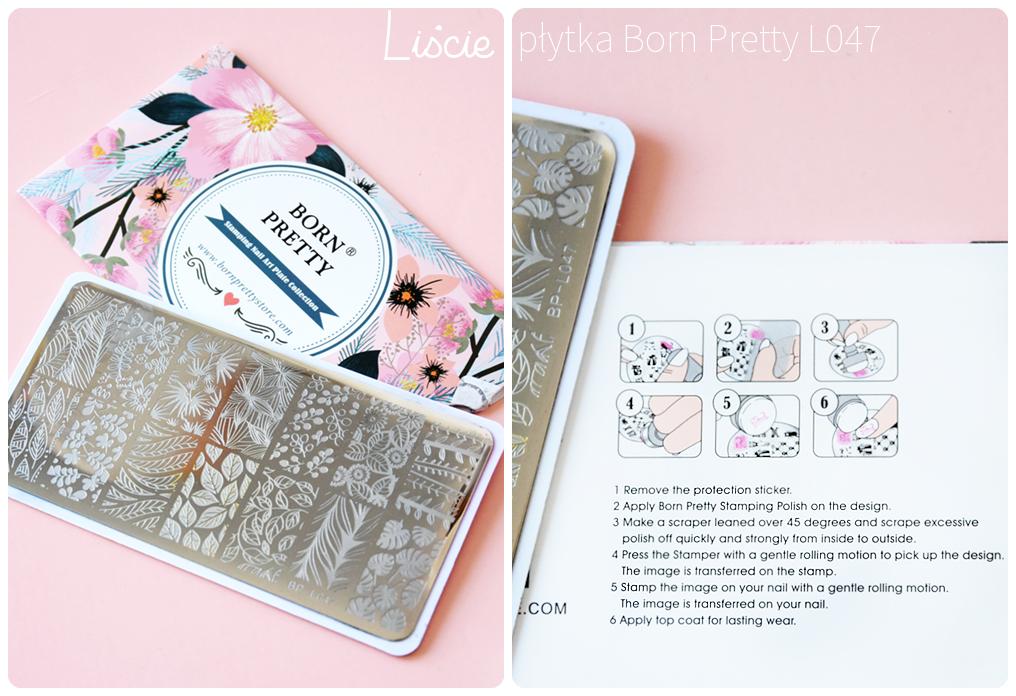 Born Pretty L047 plate