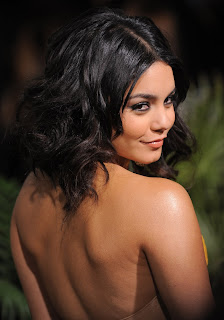 Vanessa Hudgens - Yellow Strapless Formal Dress