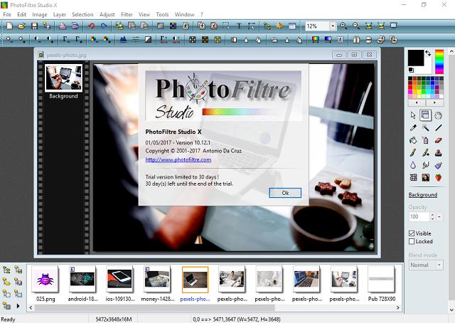 تحميل برنامج تعديل وتحرير الصور PhotoFiltre Studio X آخر إصدار