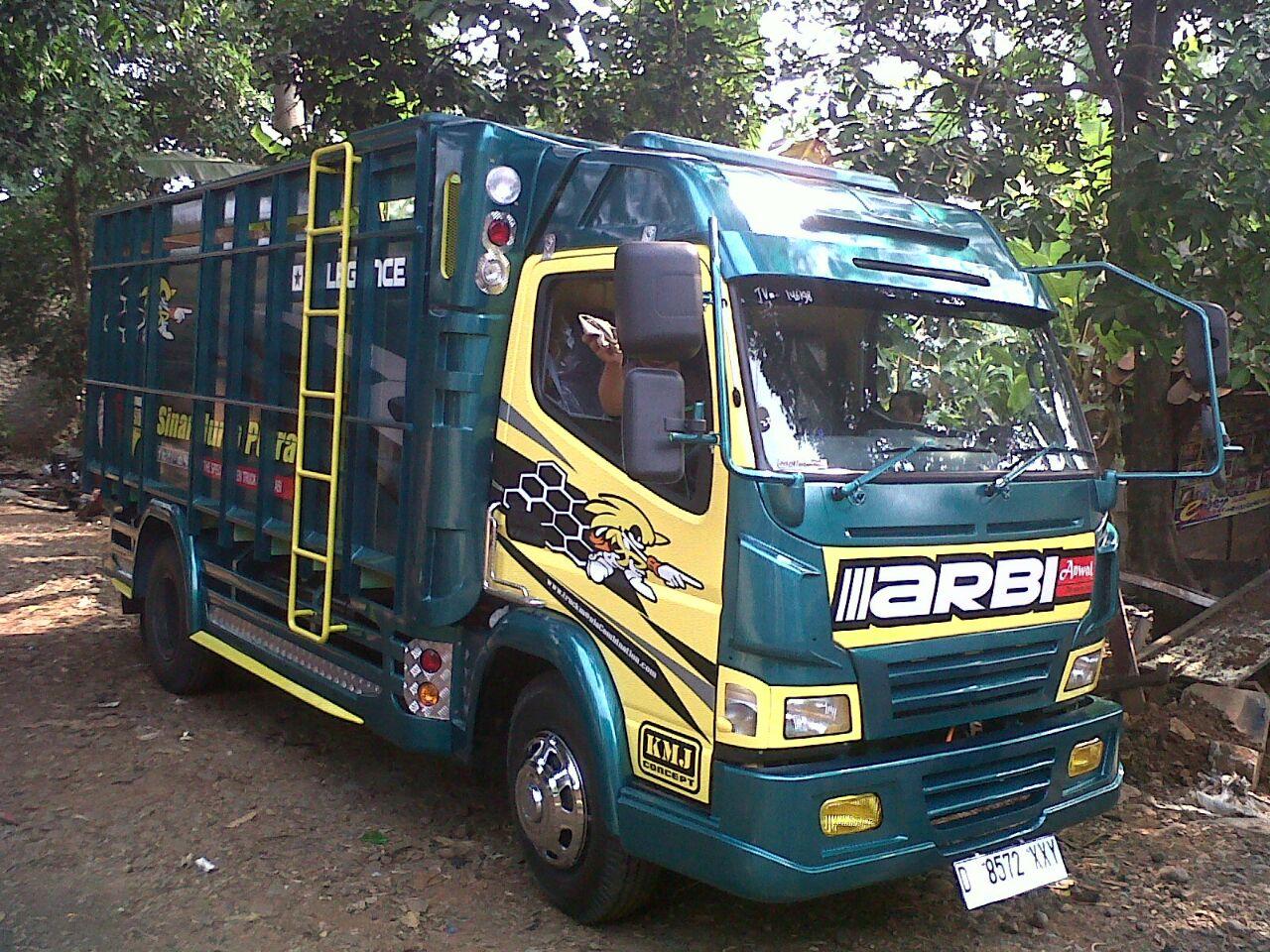 Koleksi Modifikasi Mobil Truk Canter Jawa Modifikasimania
