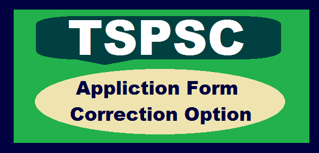 TSPSC, TS State, TS Recruitment, TS Jobs, Residential Educational Institutions Societies, Correction Option, Application Form Correction