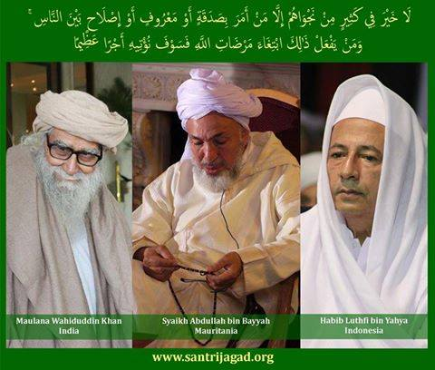 3 Ulama Juru Perdamaian Dunia