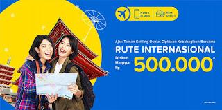 cari tiket murah rute internasional