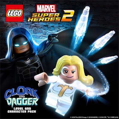 """בהשראת """"Cloak & Dagger"""", חבילת תוכן חדשה ל-""""Lego Marvel Super Heroes 2""""!"""