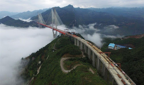 Ponte mais alta do mundo -  China