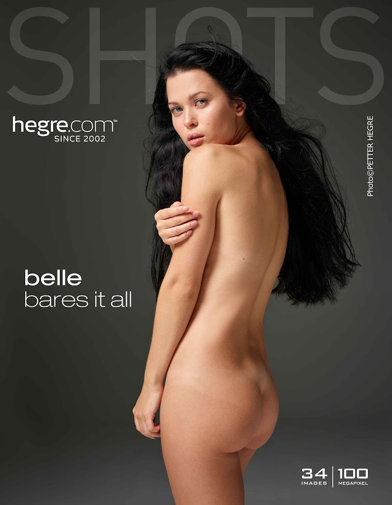 title2:Hegre Belle Bares It All