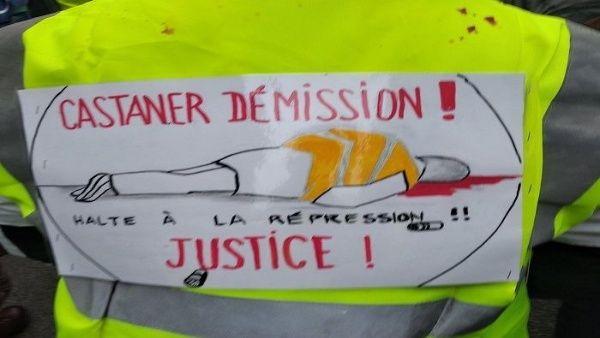 Parlamento de Francia aprueba ley contra manifestaciones