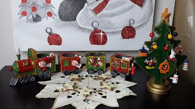 weihnachtsdeko Zug