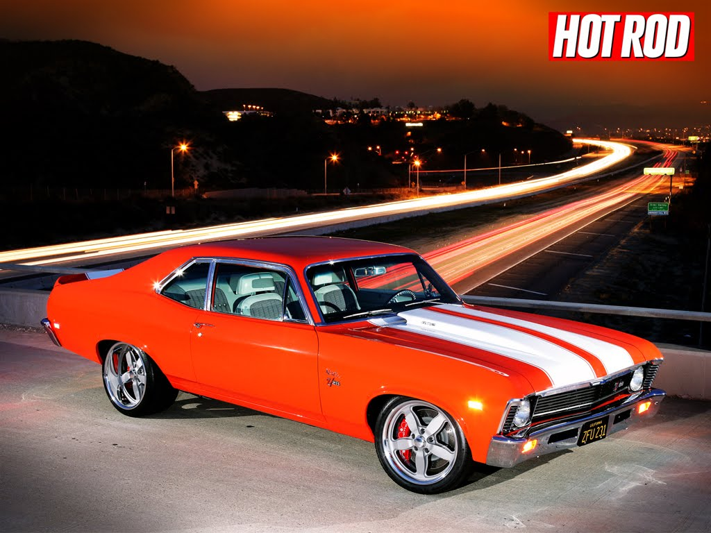 Sports Cars: Classic Muscle Cars Wallpaper