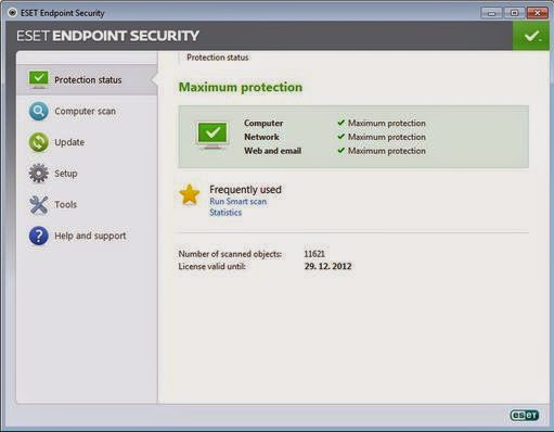 Download ESET Endpoint Security v6.1.2109.0