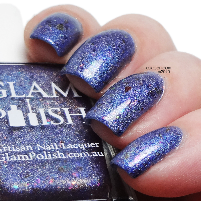 xoxoJen's swatch of Glam Polish Head in the Clouds