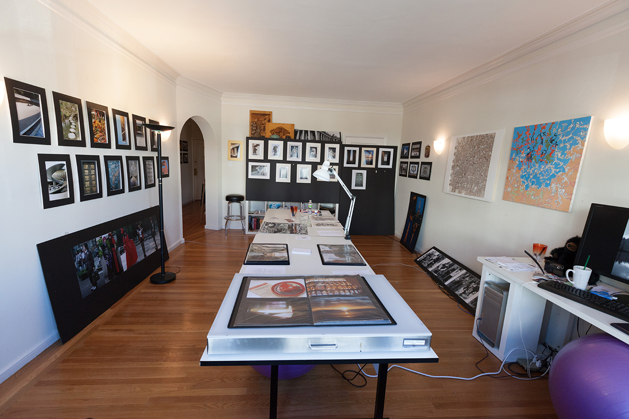 my studio in San Francisco