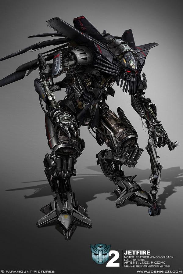 Transformers Arte Conceito Revoltado Por Natureza