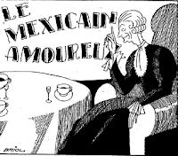 Le Mexicain amoureux.