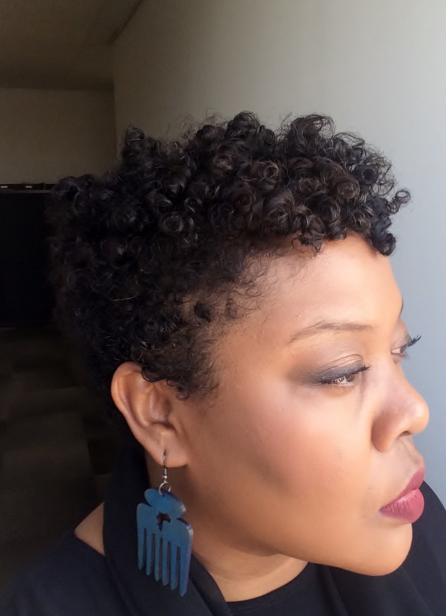 Styling Natural Short Hair Flexi Rod Set Naturalhair Co Za
