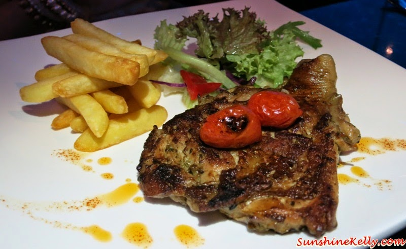 Grilled Chicken Diavola, Marinated with Rosemary, Garlic, Chilli, iMiirage @ Ipoh SoHo, iMiirage, Ipoh soho, ipoh, soho, World's 1st Ambience Dining Experience
