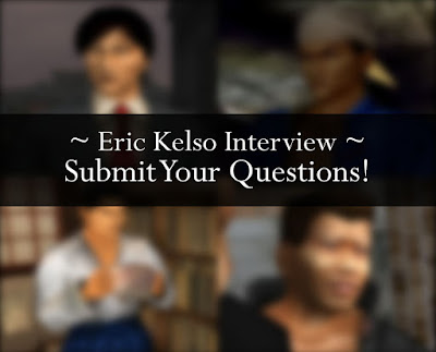 Eric Kelso Interview: Submit Your Questions!
