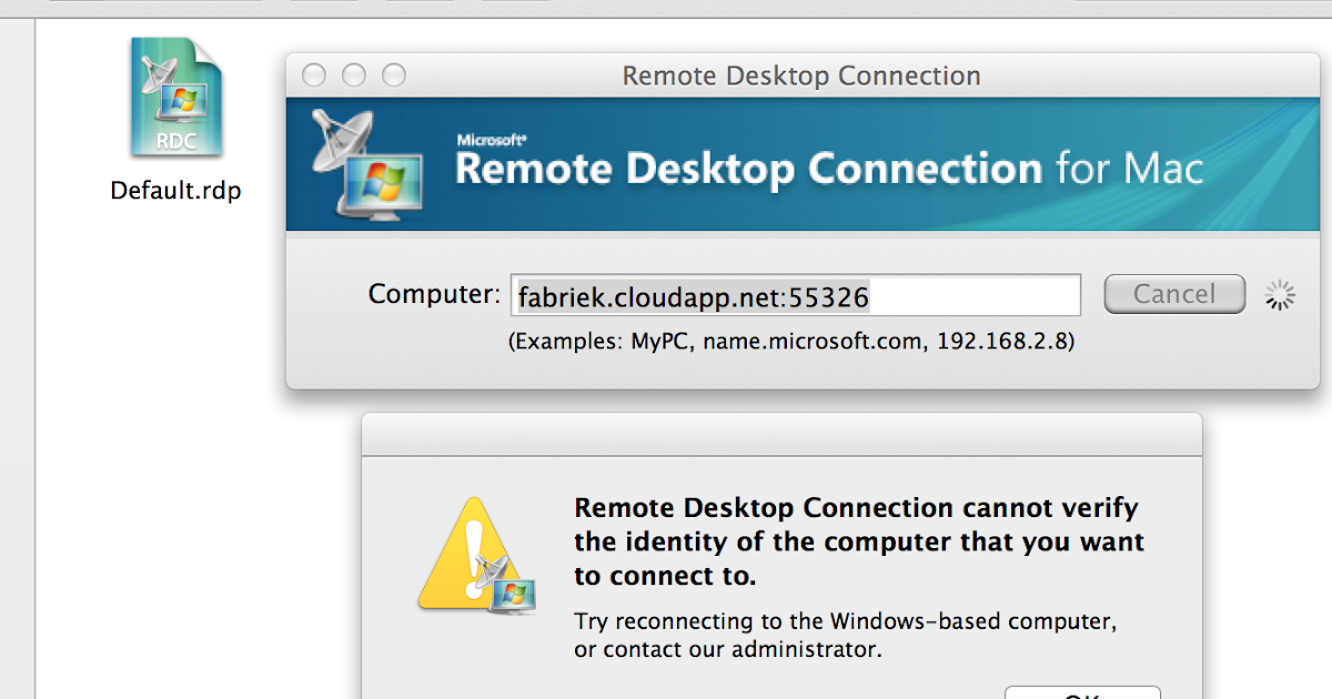 Gert Lombard's blog: Remote Desktop Connection for Mac OSX
