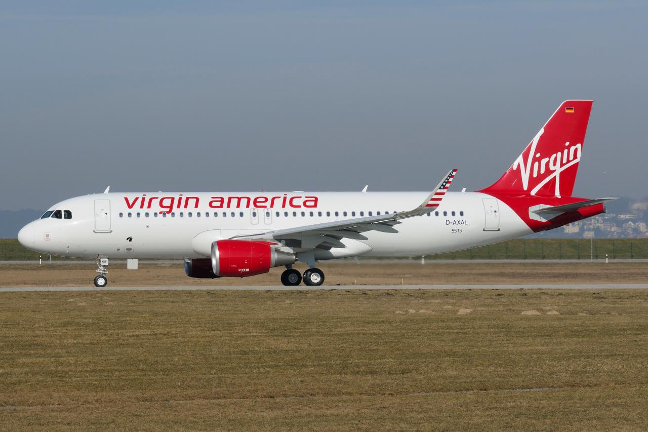 Airbus hamburg finkenwerder news a320 214sl alaska for Virgin america a321neo cabin
