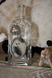 Love Bird Soldered Bottle