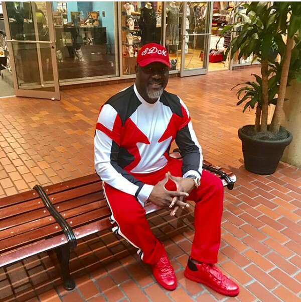 Photos: Senator Dino Melaye paints Washington D.C red